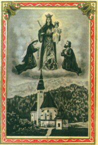 Marija Snežnica v Solčavi (Stara romarska podobica)