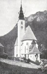 Cerkev Marije Snežne (Okoli leta 1905)